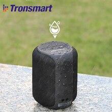 Tronsmart T6 TWS بلوتوث صغير 5.0 المتكلم 15 واط IPX6 مقاوم للماء اللاسلكية المحمولة العمود في الهواء الطلق 24H وقت اللعب مساعد الصوت
