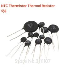 20 unids/lote MF52AT MF52 MF52B 3950 NTC 5% termistor resistencia térmica 1K 2K 3K 4,7 K 5K 10K 20K 47K 50K 100K 102-104 resistencia