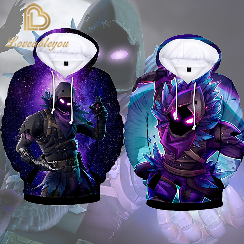 Free Shipping 100cm - 150 Cm Anime Gaming Hoodie Unisex 3D Print Streetwear Hip Hop Punk Childrens Hoodie Casual Men Sweatshirts
