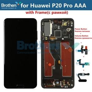 Image 5 - LCD ekran için Huawei P20 Pro LCD ekran için P20 Pro CLT L09 CLT L29 CLT AL00 CLT AL01 LCD meclisi dokunmatik ekran digitizer Test