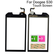 5.0 Inch Touch Screen Glass For Doogee S30 Touch Screen Digitizer Panel Sensor Front Outer Glass Lens Tools 3M Glue 6 1 touch screen for ulefone note 7 s11 touch panel touch screen digitizer sensor repair touch glass lens tools 3m glue