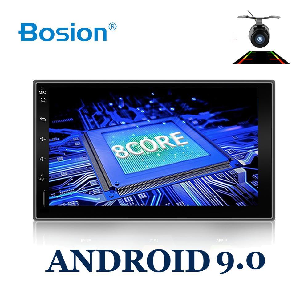 Bosion Octa Core 2din Android 9,0 2G RAM 32GB ROM 4G LTE SIM GPS coche Universal reproductor de Radio no hay dvd BT WIFI