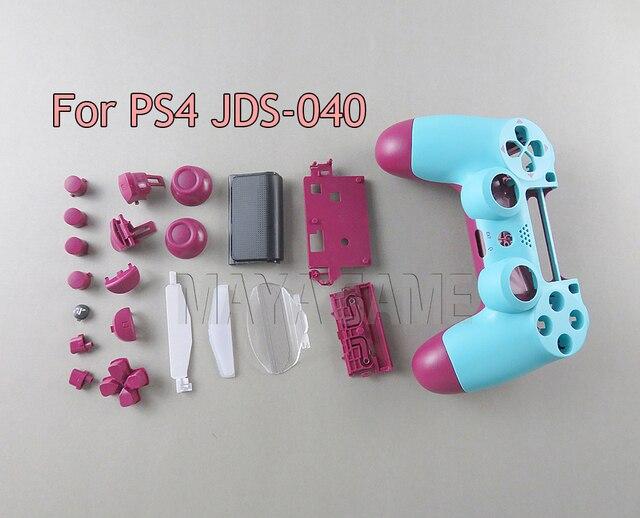 Pour PS4 PRO 4.0 JDM 040 JDS040 contrôleur ensemble complet boîtier coque couverture peau de remplacement pour Sony PlayStation 4 Pro 4.0