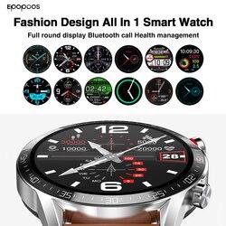 Tudo em 1 relógio inteligente 2021 smartwatch 1.3 polegada tela cheia freqüência cardíaca pressão arterial ip68 bluetooth chamada para ios android