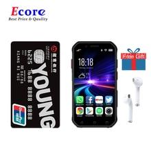 S10 4G-LTE Mini Водонепроницаемый мобильный телефон 3,0 дюймов Карманный смартфон Две Sim-карты четырехъядерный распознавание лица NFC рация разблок...