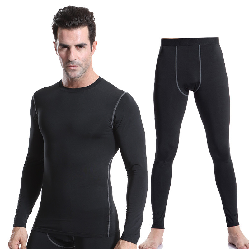Fysupotsu Winter Thermo Underwear Thermal Men Long Johns Thermal Clothing Rashgard Kit Long Compression Underwear Man Tracksuit