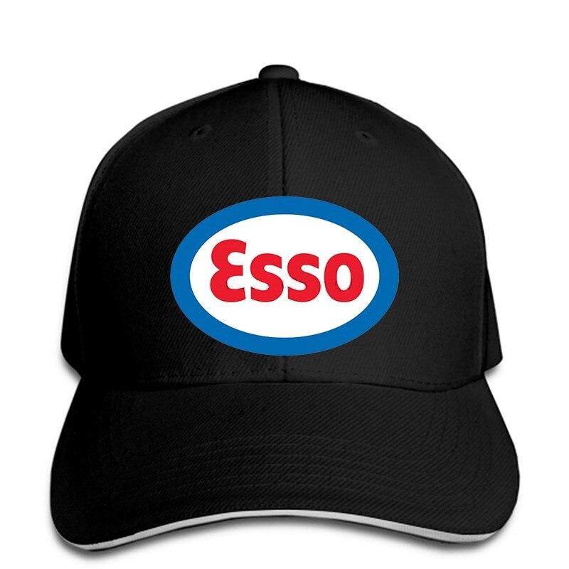 Men Fashion Men Baseball Caps Esso Oil Gasoline Vintage Man Casual Tops White  Snapback Cap Women Hat Peaked