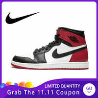 Original Authentischen Nike Air Jordan 1 OG männer Basketball Schuhe Sport Outdoor Turnschuhe Sportlich Designer Schuhe 555088-184