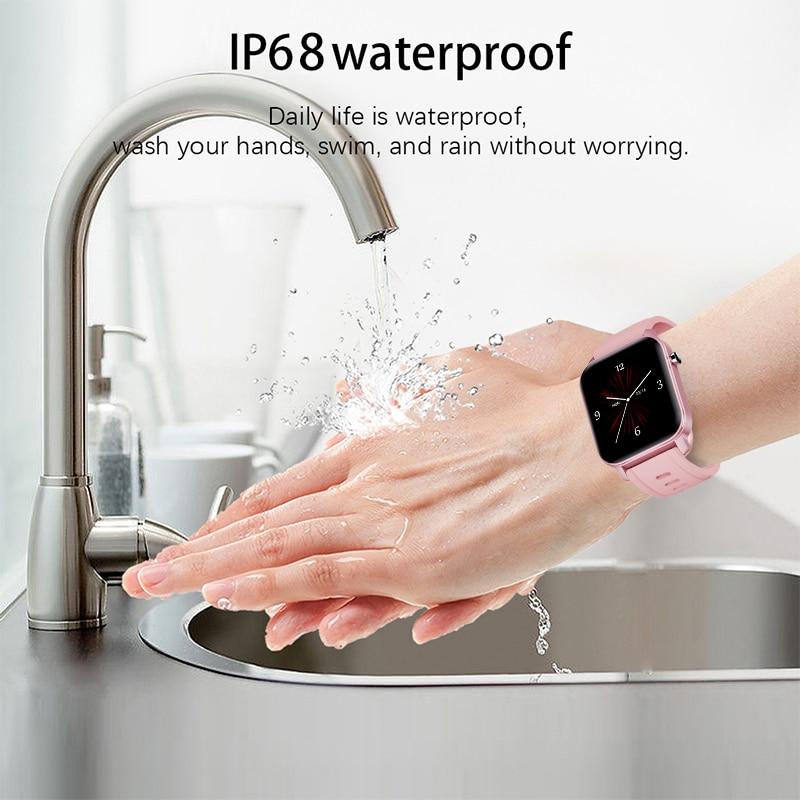 cheapest LIGE Woman Smart Watch Women Fitness Watch Smart Watch Men Waterproof Music Weather Display for Android ios Reloj Inteligente