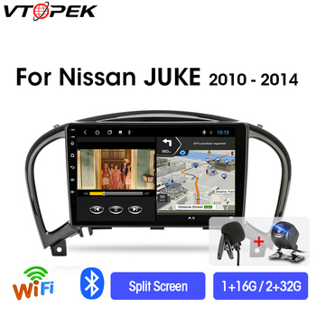 Vtopek 9 4G+WiFi DSP RDS 2din Android Car Radio Multimedia Video Player Navigation GPS For Nissan Juke YF15 2010-2014 Head Unit vtopek 9 4g wifi 2din android 8 1 car radio multimedia player navigation gps for toyota prado 3 j120 2003 2009 head unit 2 din