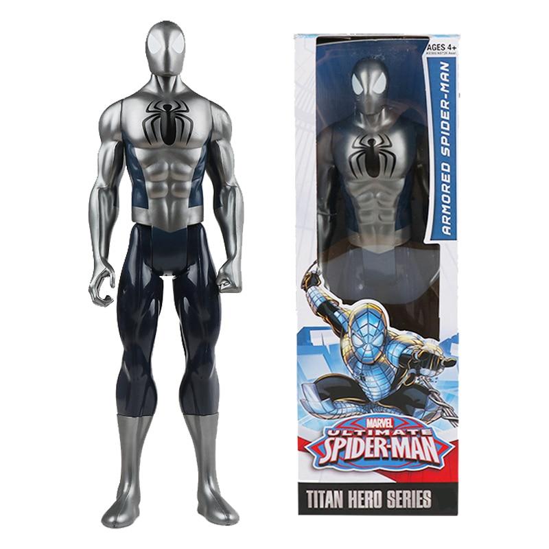 Ultimate Spider-man Titan Hero Series Armored Spider Man 12'' Action Figure Spiderman Dolls New Year Birthday Gift For Boy Kids