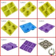 3D DIY силиконовая форма для мыла ручной работы, мыла льда кубическая, для конфет шоколада для пирожного, печенья, капкейка, делая формы забавные подарки, инструменты для украшения