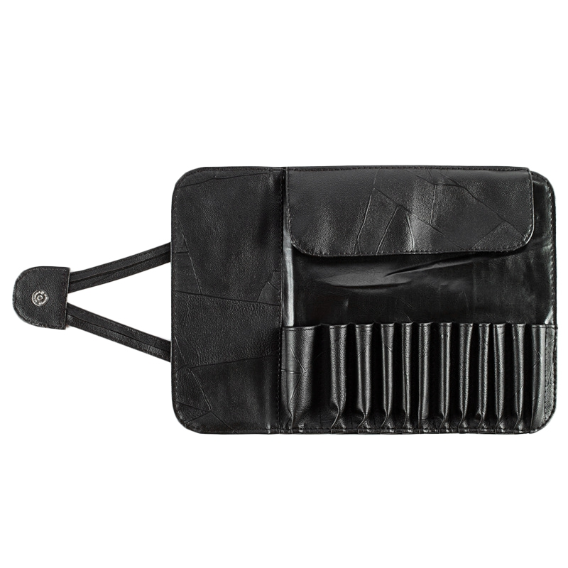 Makeup Brush Holder Cosmetic Organizer Rolling Bag Case Container Pouch Bags