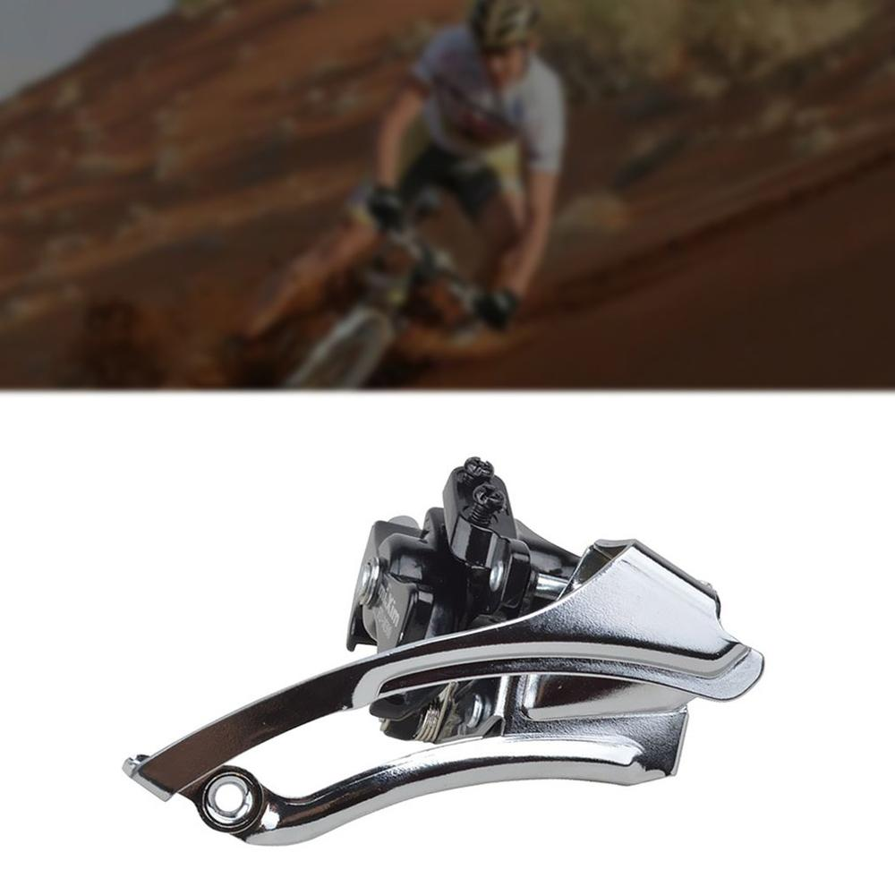 21/24 / 27-Speed Front Derailleur For Mountain Bikes Better Control Integrated Design Strong And Dynamic Design 1 Set
