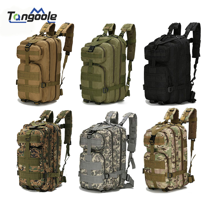 Nylon Tactical Military Backpack Waterproof Army Bag Outdoor Sports Rucksack Camping Hiking Fishing Hunting 30L Bag