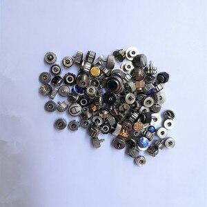 Image 1 - Accesorios de reloj con acero, grano 90 100, tamaño variado, paquete de cabeza grande