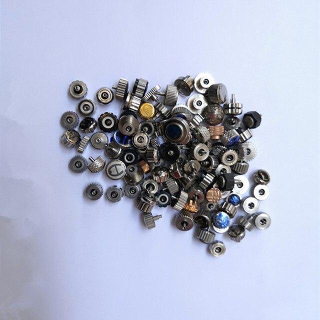 Accesorios de reloj con acero, grano 90 100, tamaño variado, paquete de cabeza grande
