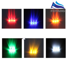 100pcs 1.8mm red yellow blue green white yellow green orange warm white pink Ultra Bright water clear Transparent DIP LED