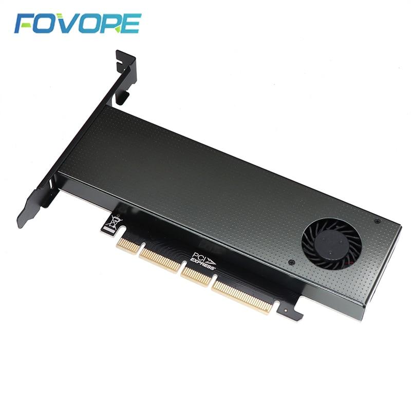 Адаптер M2 M2 NVMe NGFF M B key SSD PCI express PCIe x4 x6 x8 адаптер PCI-e PCI e на M.2 конвертерная карта для 2230 2242 2260 2280