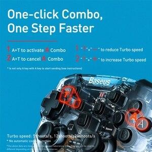 Image 5 - Baseus Gamepad Gamepad para Nintendo interruptor Bluetooth 6 Axis Vibrador Motion Sensor Joypad Controlador para Lite PC Chave