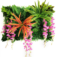 Wisteria Flowers Artificial Flowers Plant Lawns Home Garden Wall Landscaping Green Door Shop Backdrop