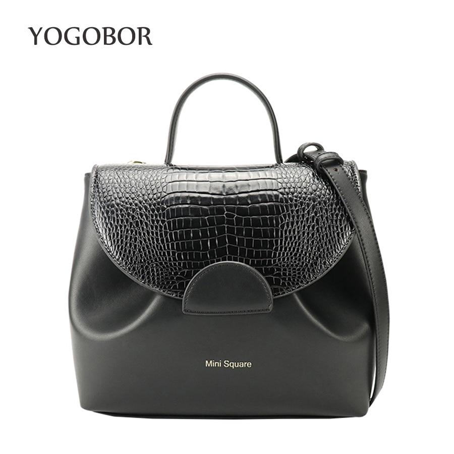 Fashion Elegant Handbag Women Shoulder Bag High Quality Crossbody Bags Designer Crocodile PU Leather Ladies Hand Bags Tote