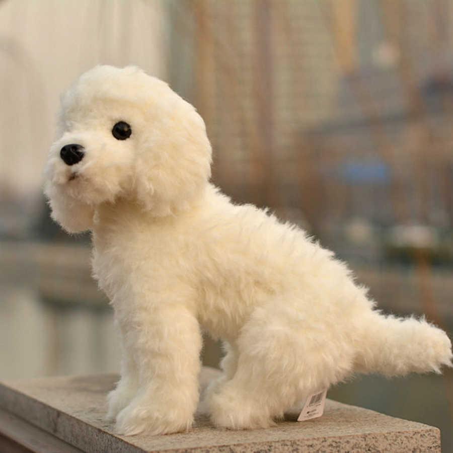Zabawki dla dzieci dla dziewczynek wypchane zwierzęta pluszowe zabawki śmieszne Teddy Dog husky prezenty urodzinowe lalki bawełniane miękki biały pies CC50MR