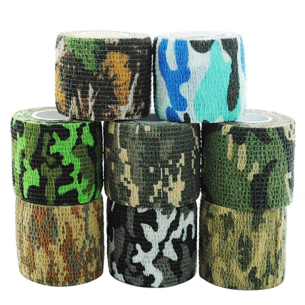 Military Stretch Medical Bandage Camouflage Tape Self-Adhesive Gun Decor  For R ifle Gun Flashlight Camo Tape Drop shipping