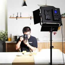 VILTROX VL-D85T Professional slim Metal Bi-color LED photography light & Wireless remote for Camera Photo Studio Video light