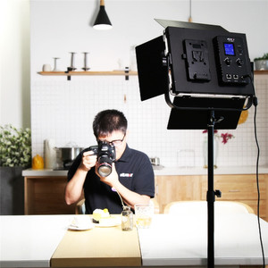 Image 5 - VILTROX VL D85T Professional slim Metal Bi color LED photography light & Wireless remote for Camera Photo Studio Video light