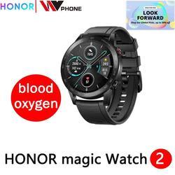 Honor magic Watch 2 magic 2 Смарт-часы датчик кислорода в крови spo2 телефонный Звонок трекер сердечного ритма для Android iOS
