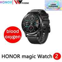 Honor magic Watch 2 magic 2 reloj inteligente rastreador de oxígeno en sangre spo2 llamada de teléfono rastreador de frecuencia cardíaca para Android iOS
