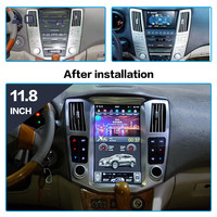 Android 9 Tesla style Car DVD Player GPS navigation for Lexus RX300 RX330 RX400 2004 2007 Car radio player Auto stereo head unit