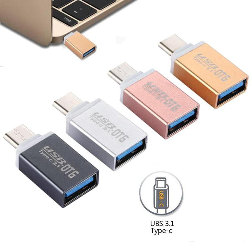 CARPRIE USB Typec Otg Adapter Fast Type C To Usb 3.0 Converter Usb-c Type-c Charge Data Sync Cable For Samsung Huawei Xiaomi PC