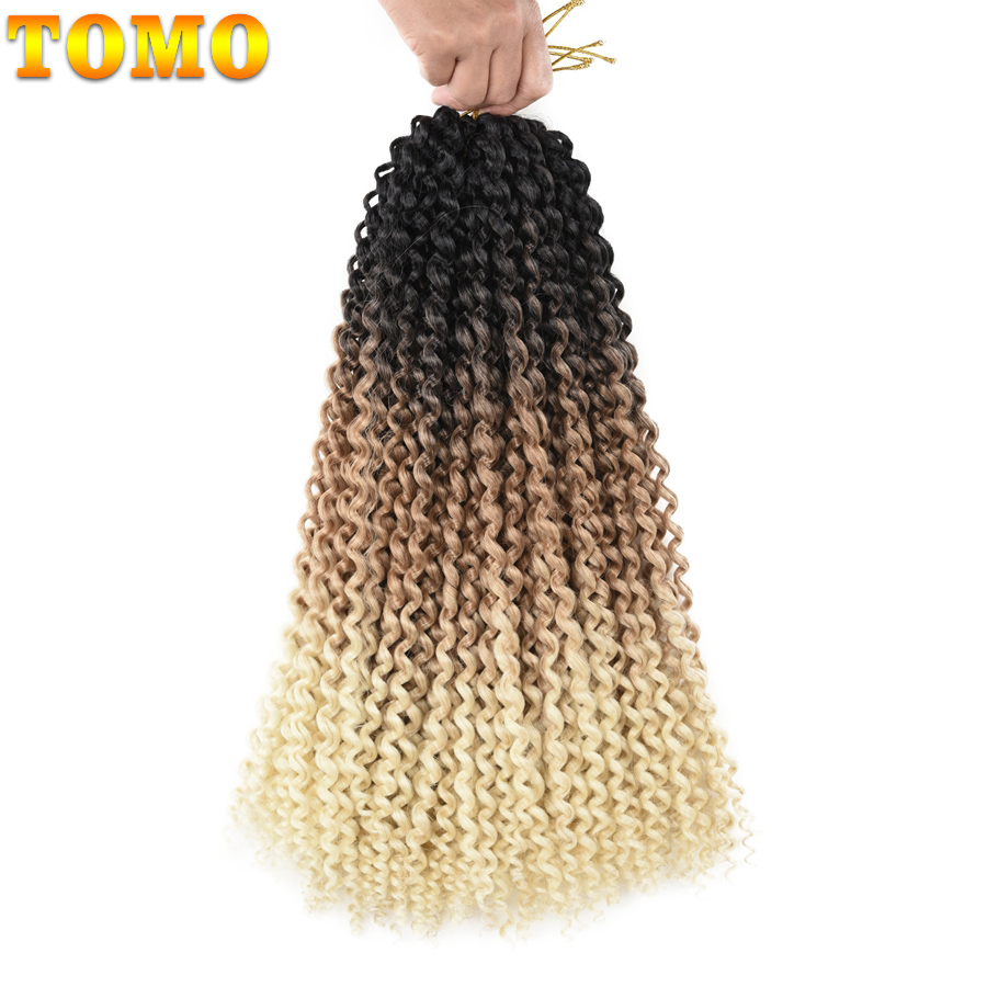TOMO Passion Twist Crochet Hair Synthetic Braiding Hair Extensions 14 18 22Inch 22Strands Spring Twist 80g/Pack Long Black Brown 20