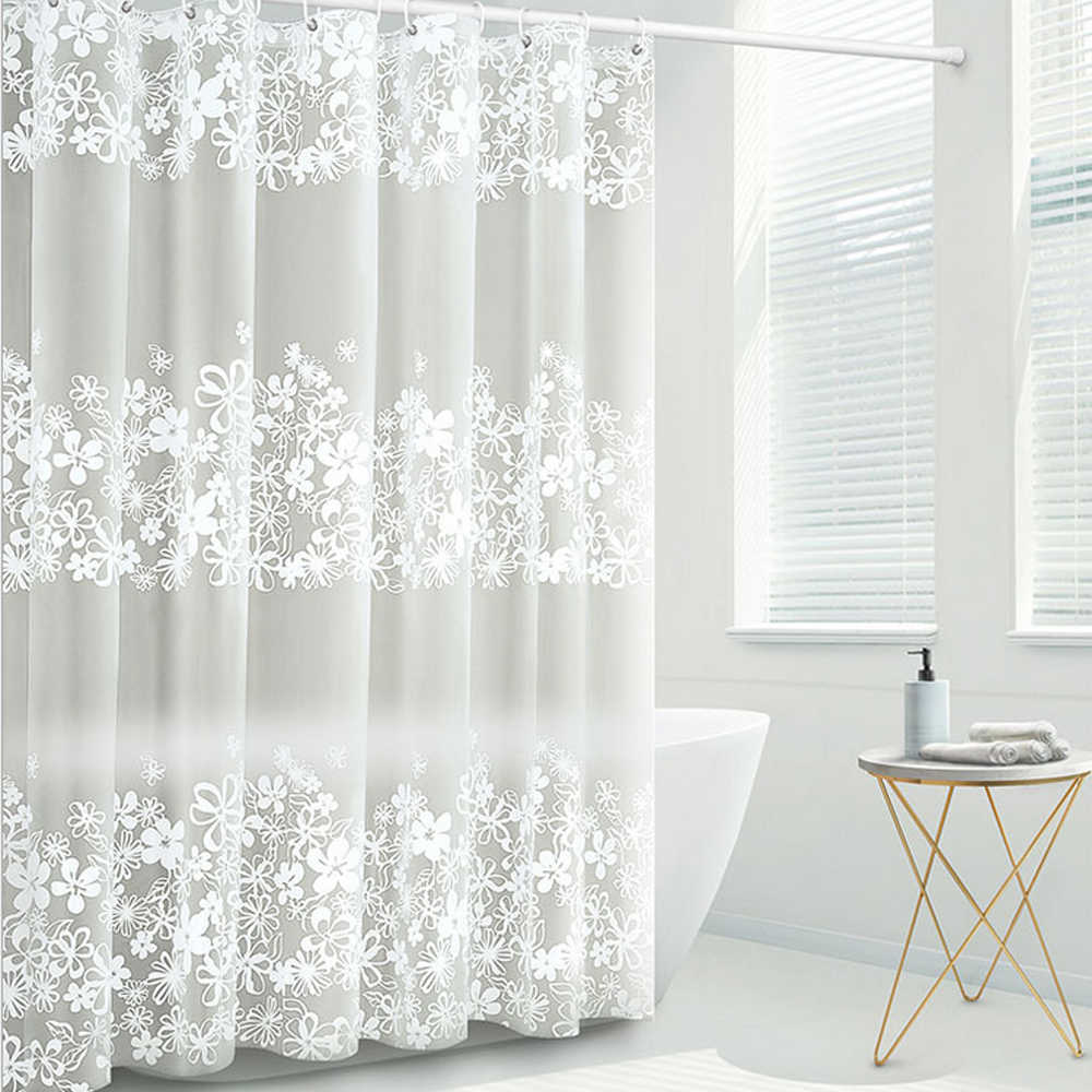 floral shower curtain liner peva