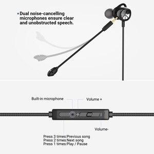 Image 5 - Langsdom 2020 משחקי אוזניות עבור PUBG Overwatch משלוח מתנה משרד Wired אוזניות ספורט 3.5mm אוזניות עם מיקרופון בס אוזניות