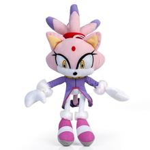 Animal-Toys Soft-Doll Stuffed Cat Blaze Purple Kids Gifts 14-Inch Different-World Lilac