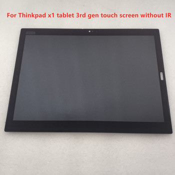 """13""""Inch Tablet Laptop Replacement Touch LCD Screen w/Bezel Panel Display For ThinkPad X1 Tablet 3rd Gen 2018 1"""