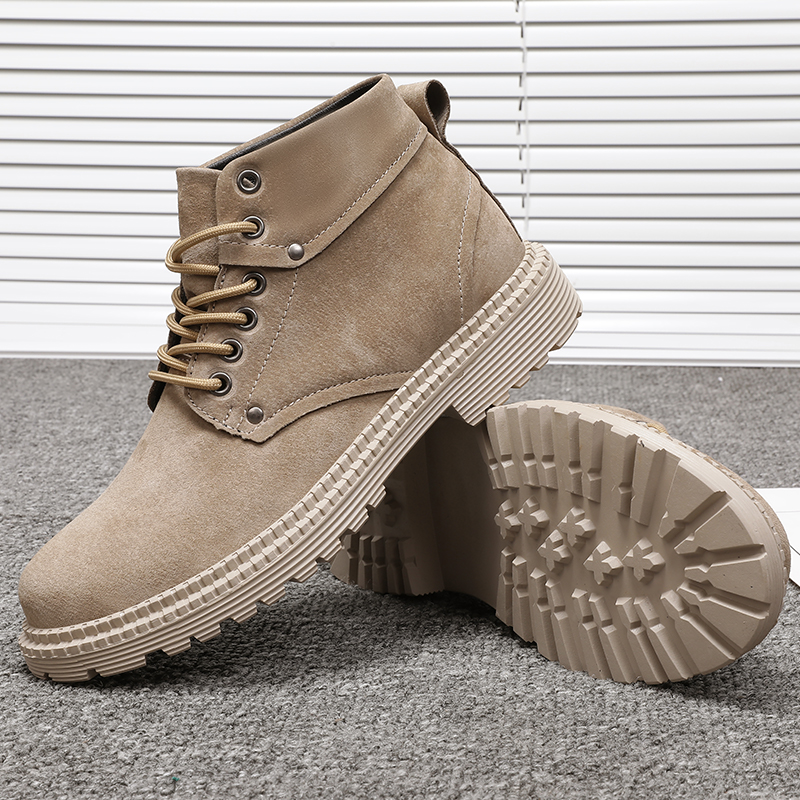 CIMIM Boots Comfortable Men Chelsea Winter Casual Fashion Brand New Outdoor Large-Size