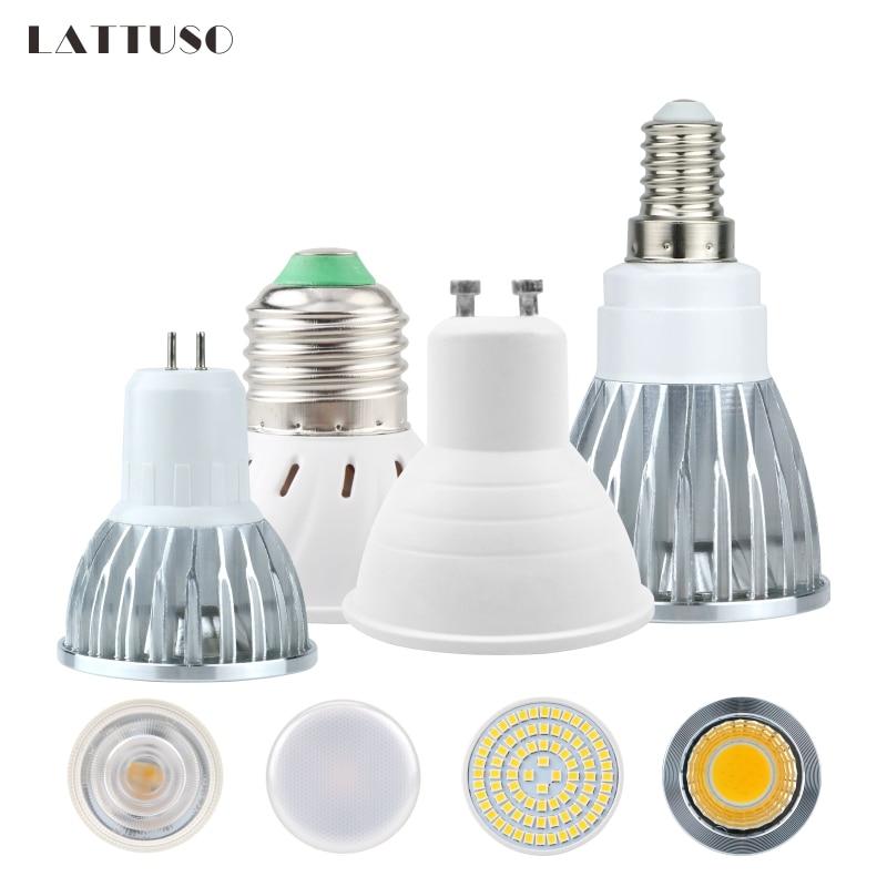 LED Bulb E27 E14 MR16 GU10 Lampada AC 220V 230V 240V Bombillas LED Lamp Spotlight 48 60 80 LEDs 2835 SMD Lampara Spot Cfl