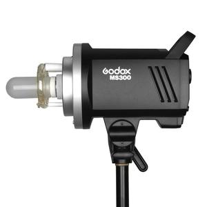 Image 2 - Godox MS200 200 Вт или MS300 300 Вт 2,4G встроенный беспроводной приемник, легкий, компактный и прочный, крепление Bowens, студийная вспышка