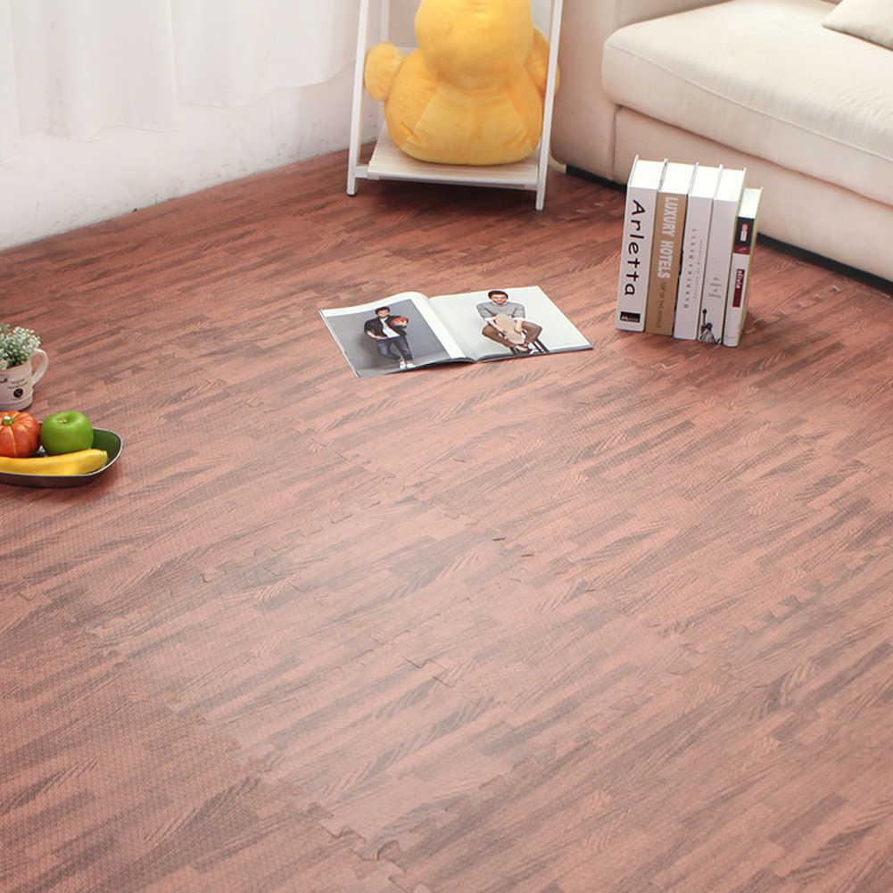 Nouveau 30x30cm EVA mousse tapis de sol tapis de jeu pour enfants chambre décoration anti-dérapant Puzzle tapis de jeu tapis de porte épais bébé ramper jouer jouet