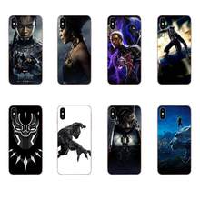 For Huawei Nova 2 V20 Y3II Y5 Y5II Y6 Y6II Y7 Y9 G8 G9 GR3 GR5 GX8 Prime 2018 2019 Soft Phone Skin Marvel Comics Black Panther(China)