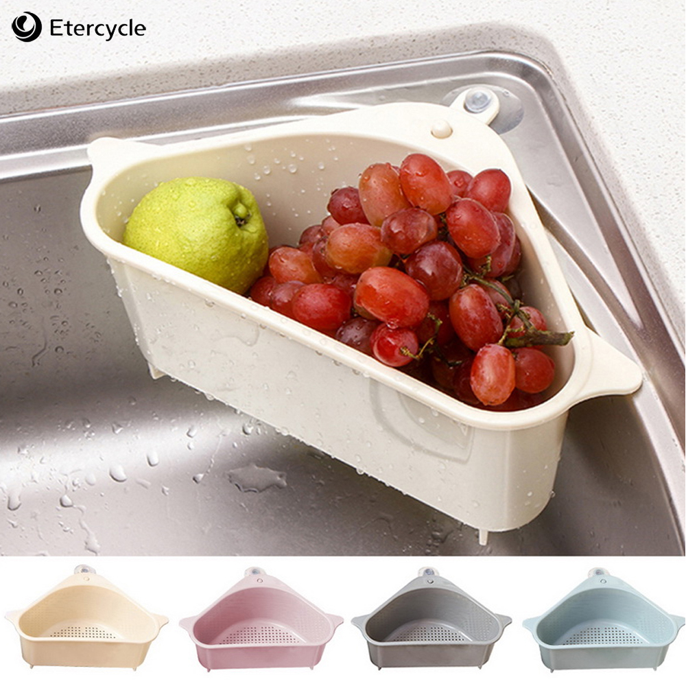 Kitchen Sink Multifunctional Storage Rack Multi Purpose Washing Bowl Sponge Drain Rack Plastic Kitchen Organizer Sink Filter