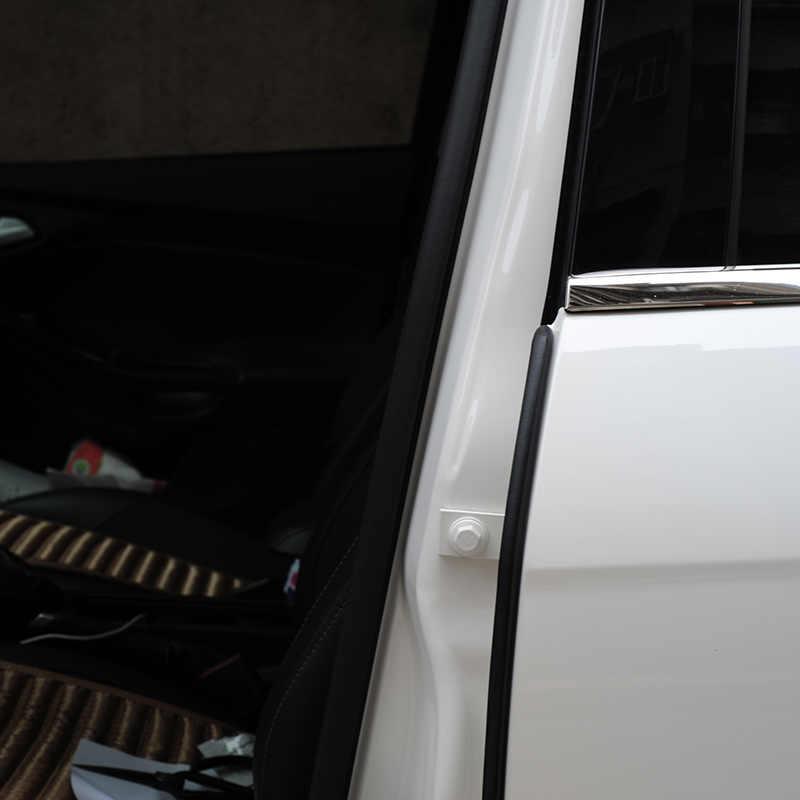 2 Chiếc Cửa Xe Cao Su Dây Chất Độn Cửa Xe Ô Tô Weatherstrip Cho B Trụ Cột Bảo Vệ Keo Dải Silicon Cho Tự Động