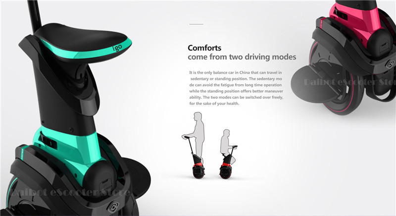 I-ROBOT-GO Electric Scooter Adults Two Wheel Self Balancing Scooters 48V 1200W Powerful Electric Scooter With SeatAPP  (5)