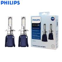 필립스 led h7 ultinon 필수 led 자동차 전구 6000 k 밝은 흰색 빛 자동 헤드 라이트 혁신적인 열 11972ue x2, 쌍