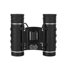 40x22 HD мощный бинокль 2000 м дальний диапазон складной мини телескоп для охоты спорта на открытом воздухе кемпинг путешествия