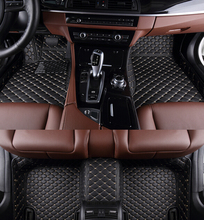 цена на no odor full surrounded Special car floor mats wear-resisting non-slip carpets waterproof rugs for MercedesBenzGL450 7seats
